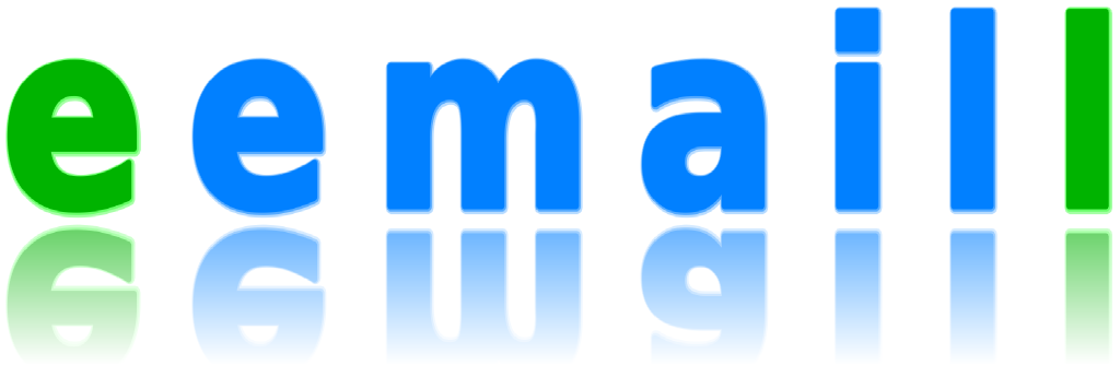 eemaill logo with refelection
